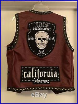 100% Skateboarder Club Vest, Dogtown, Hosoi, Jay Adams, Alva
