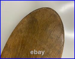 1960s Original Hobie Vintage Super Surfer Oak Wood Skateboard with Clay Wheels