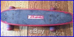 1970's Vintage Z-Flex Original Skateboard 27 Complete Fiberglass Dogtown Zephyr