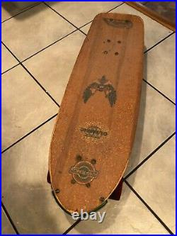 1978 Dogtown Skateboard Wes Humpston Vintage Powell Peralta Kryptonics Megatron