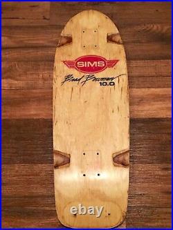 1978 Sims Brad Bowman Skateboard Deck