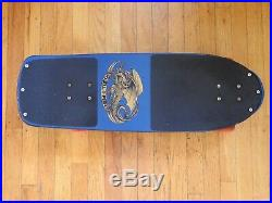 1978 Vintage Powell Peralta Skull and Sword Skateboard
