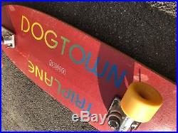1979 Dogtown Jim Muir TRIPLANE Skateboard Megatrons G&S Yoyos Vintage Old rare