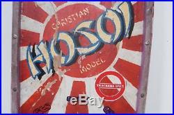 1980'S SIMS CHRISTIAN HOSOI Original RISING SUN Vintage Skateboard