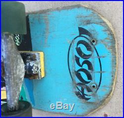 1980's Original Vintage Christian HOSOI Hammerhead Skateboard Street Deck