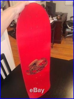 1980's Vintage Powell Peralta Sword and Skull Skateboard Deck ORIGINAL Owner