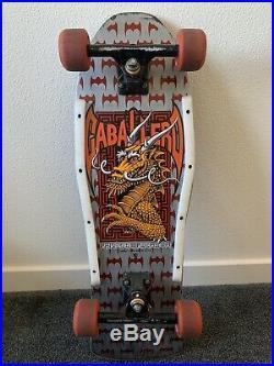 1980's Vintage Skateboard Powell Peralta Steve Caballero NICE
