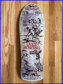 1980s Lance Mountain Powell Peralta XT Future Primitive Skateboard Vintage
