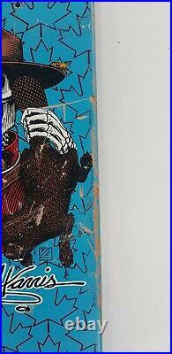 1980s Original Kevin Harris, Powell Peralta, OG Vintage Skateboard