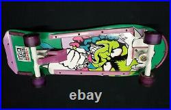 1985 G&S Billy Ruff Vintage Skateboard Rare Green Complete Great for Collectors