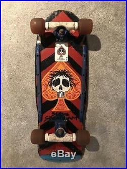 1985 OG Steve Steadham Powell Peralta Vintage Complete Skateboard Tony Hawk