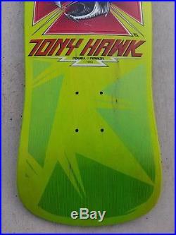 1986 NOS Powell Peralta Tony Hawk skateboard deck rare vintage