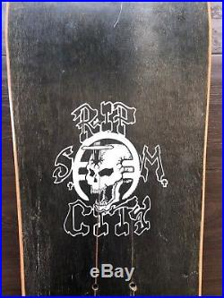 1986 Rip City Black Flag NOS Skateboard Raymond Pettibon Art Vintage Rare punk