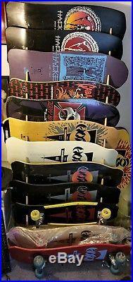 1986 VINTAGE SCHMITT STIX JOHN LUCERO X1 SKATEBOARD Deck