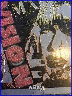1986 VISION Aggressor 1 Skateboard Deck VTG RARE
