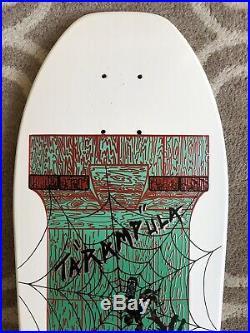 1987 NOS Schmitt Stix Tarampula Vintage Skateboard Deck Grosso Shape Santa Cruz