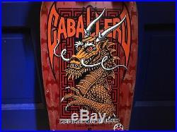 1987 Powell Peralta Steve Caballero Original Vintage Dragon & Bats Skateboard