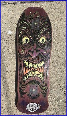 1987 Santa Cruz Rob Roskopp Face Skateboard Vintage