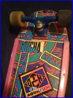 1987 Sims Steve Rocco Skateboard, 80's Survivor, Gullwing, Peralta