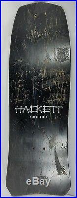 1987 Skull Skates David Hackett Skateboard Original Deck