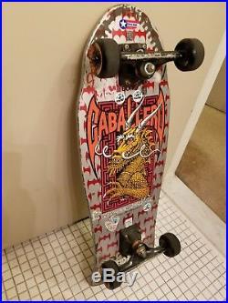 1987 Steve Caballero Powell Peralta Skateboard Vintage AMAZING