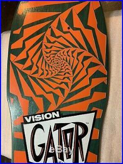 1988 Vintage Vision Gator Skateboard