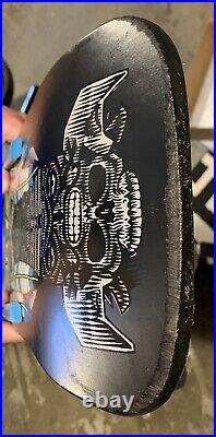 1989 Powell Peralta Steve Saiz Feathers Totem Skate Deck Original Vintage