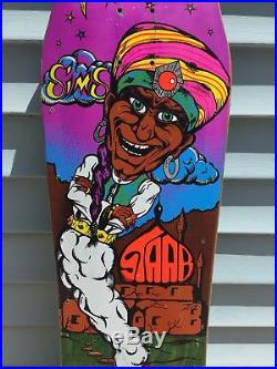 1989 Sims Kevin Staab Genie Mighty Skateboard Deck Vintage Old School