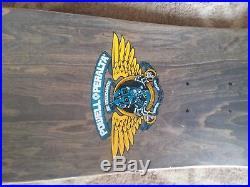1990 Vintage Powell peralta Caballero Mechanical Dragon Skateboard deck