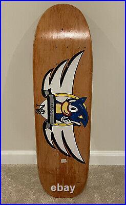 1992 New School skateboards Vintage Mario R Sonic Hedgehog NOS signed Tom Boyle