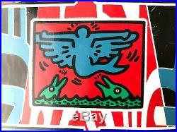 1993 Mike Santarossa Prime Skateboard Keith Haring powell peralta Alien Workshop