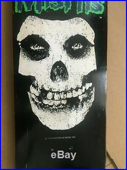 1996 NOS vintage skateboard Scarecrow Misfits Danzig Zorlac Skull skates