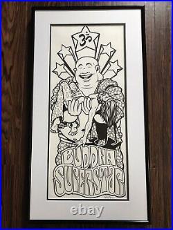 1/1 Original Sean Cliver Art with Eric Koston Girl Buddha Skateboard Set Nike SB