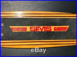 27 SIMS PURE JUICE (PRE-TAPERKICK) Vintage Skateboard DECK ONLY 70s, DOGTOWN