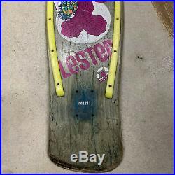 80's Lester Kasai Skateboard Thrashed