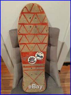 80's Original Alva Fred Smith Skateboard Deck