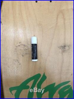 Alva Chris Cook Design Skateboard Signed by Chris Cook Original Vintage 80s NOS