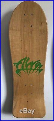 Alva John Gibson Street Vintage Skateboard Deck Mondo Beck With Free Shirt Size L