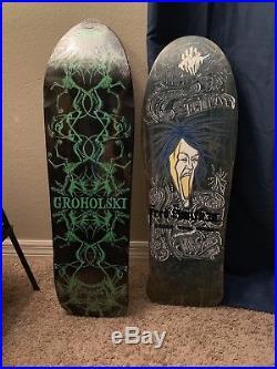 Alva Skateboards NOS 1987 Fred Smith iii Loud Ones Skateboard +Bonus Deck