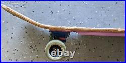 Alva skateboard vintage John Gibson with Tracker trucks and Kryptonics wheels