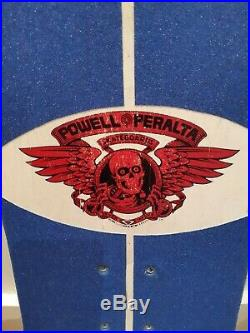 Awesome Original 1980's Powell Peralta Tommy Guerrero Deck Not A Reissue