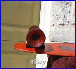 Bahne Vintage Skateboard Panther & Cobra Wheels XL 700 Trucks Original Complete