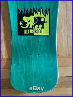 Ben Schroeder skateboard Lucero LTD Jeff Grosso Vintage Skateboard Deck 1990 NOS