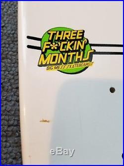 Big Mess skateboard deck Limited edition SC Roskopp NOS screened 3 Fckn Month