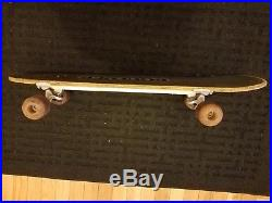 Boulder Boards skateboard indy 131, sims the wheel