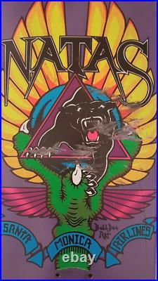 Cease & Desist Natas Kaupas Bulldog 49 / 100 used skateboard