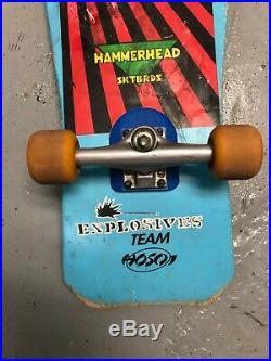 Christian Hosoi Hammerhead Vert Model Complete Skateboard Original Vintage Cruz