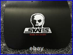 Dave Hackett Iron Cross Skateboard Deck Skull Skates Reissue OG Shape Red White