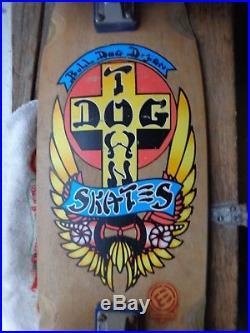 Dog Town skateboard Bull Dog Independent trucks alva wheels NICE
