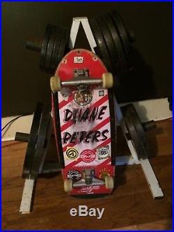 Duane Peters 1980s Vintage Skateboard
